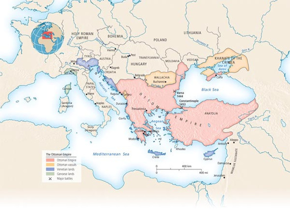 Important maps eastern europe and russia ap world history p2 the ottoman empire sciox Choice Image